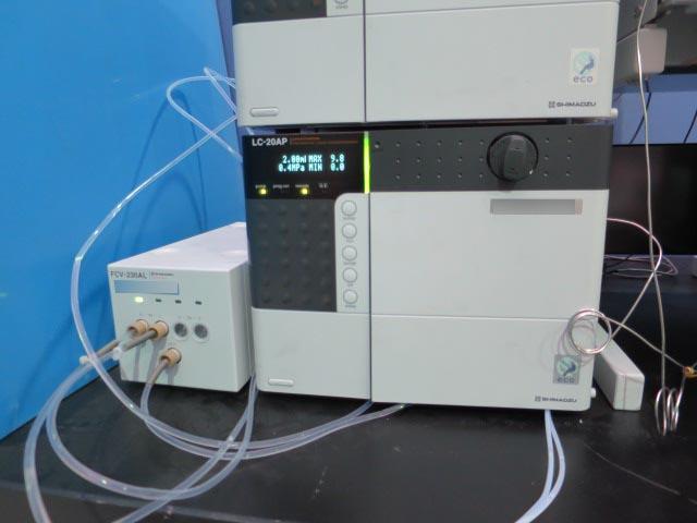島津製作所 液クロ分取システム