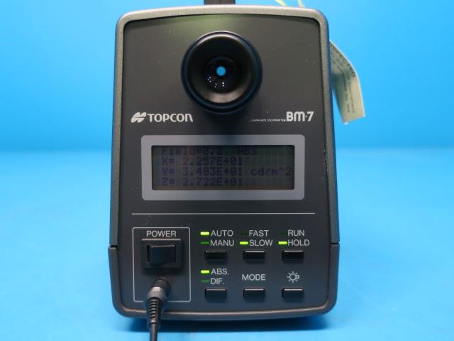 トプコンテクノハウス 輝度計 BM-7