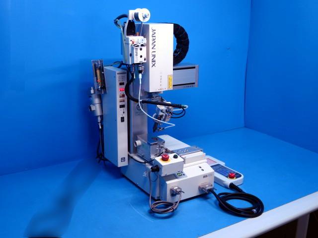 JAPAN UNIX/ Desktop soldering robot/UNIX-412R