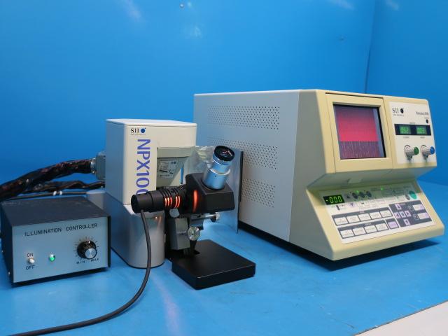 SIIナノテクノロジー プローブ顕微鏡 NANOPICS