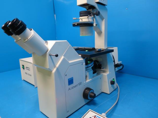 Zeiss 蛍光顕微鏡Axiovert100
