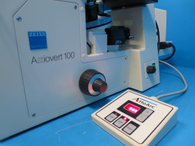 蛍光 生物顕微鏡 Axiovert100