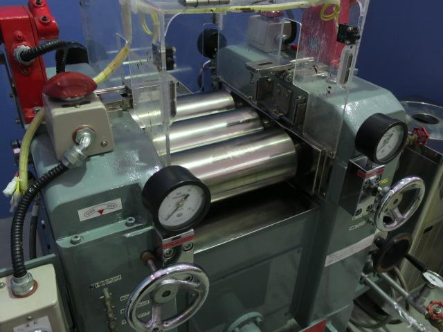 井上製作所/3本ロールミル/S-4 3/4×11