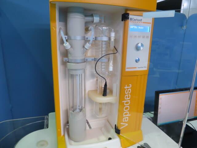 ゲルハルト ケルダール自動蒸留滴定装置 ベーパデス50s