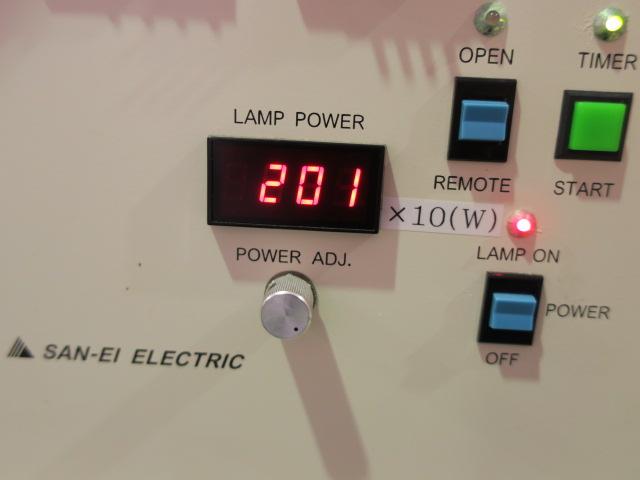 三永電機/紫外線均一露光装置/UVE-2001S