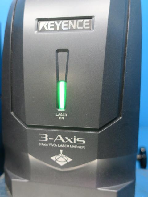 キーエンス/3Axis YVOX4 レーザーマーカー/MD-V9910