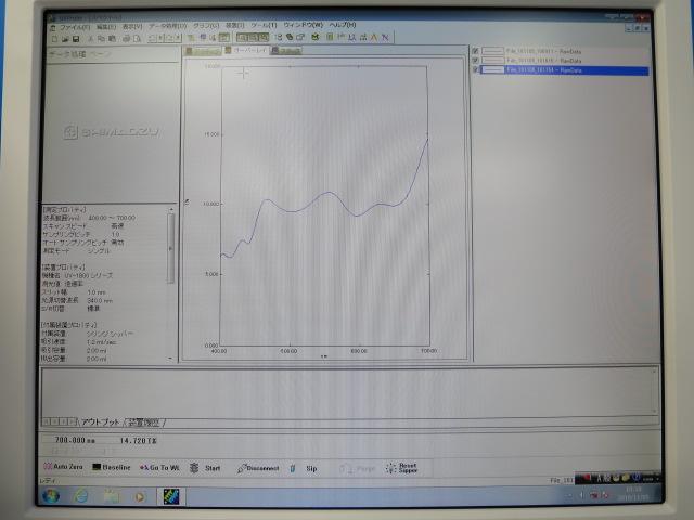 uv-vis 紫外可視近赤外分光光度計 UV-1850