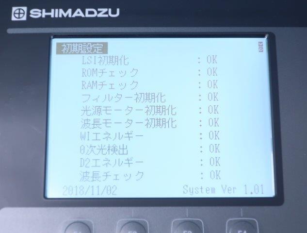 分光分析 分析機器 バイオ uv1850 PC制御