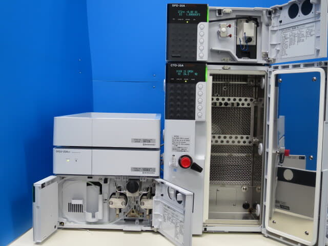 SHIMADZU 別体型HPLC prominence simple sistem