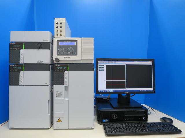 SHIMADZU 別体型HPLC prominence 504 (セミミクロgpcシステム)
