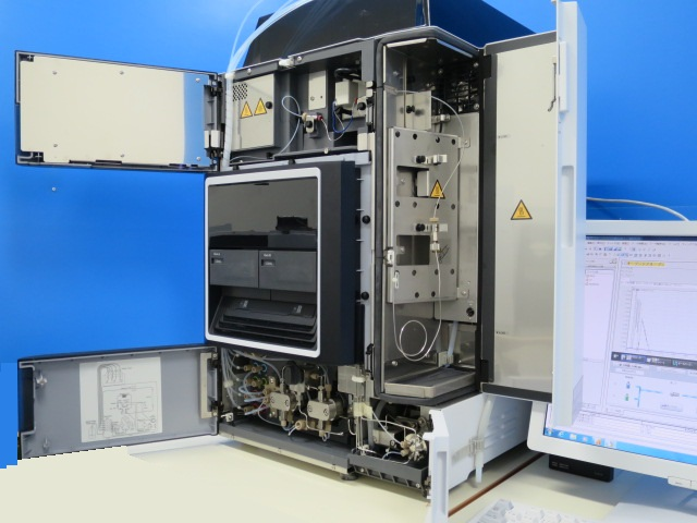 島津 分析機械 hplc LC UV検出器