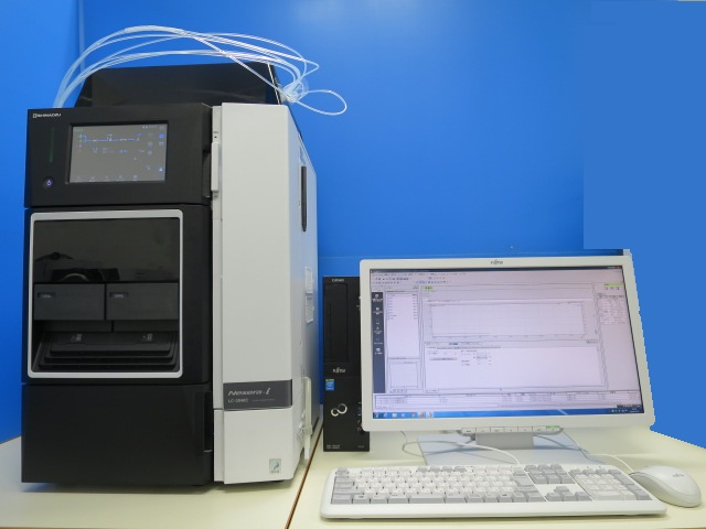 SHIMADZU 一体型HPLC LC2040