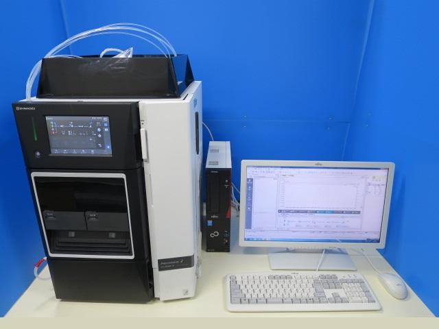 SHIMADZU 一体型HPLC lc-2040