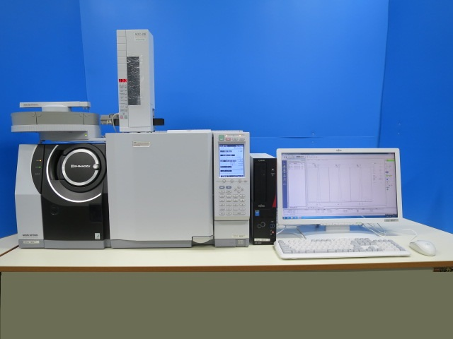 SHIMADZU GCMS GC-2010Plus QP2020