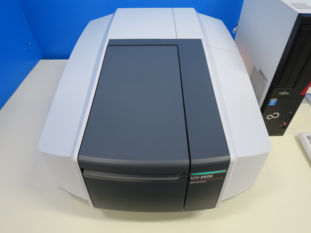 島津 分析機械 UV‐Vis 紫外可視分光光度計 uv-2600