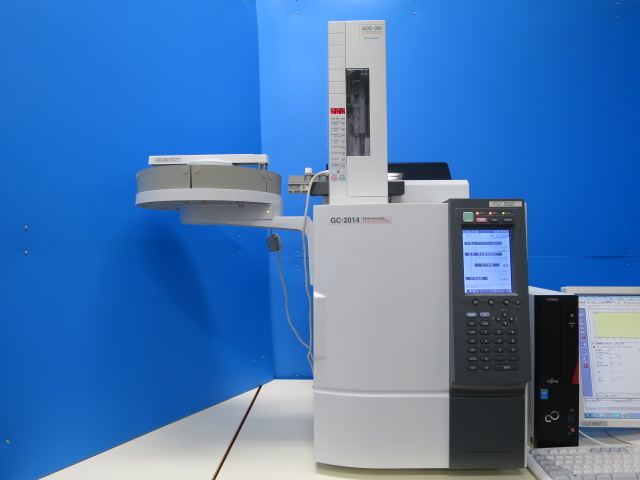 島津 分析機械 gc gc FID検出器