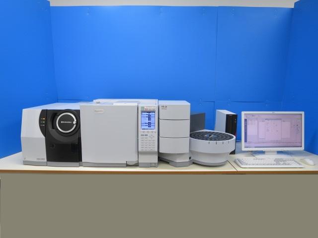 SHIMADZU GCMS GC-2010Plus TQ-8040