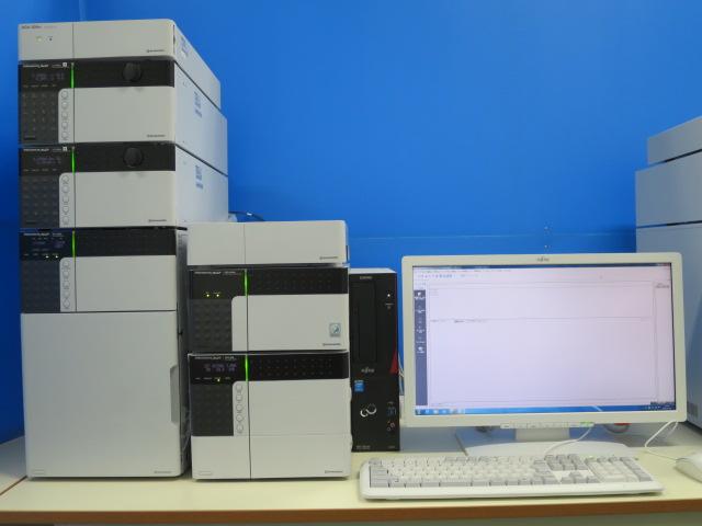 SHIMADZU 別体型HPLC nexera srシステム