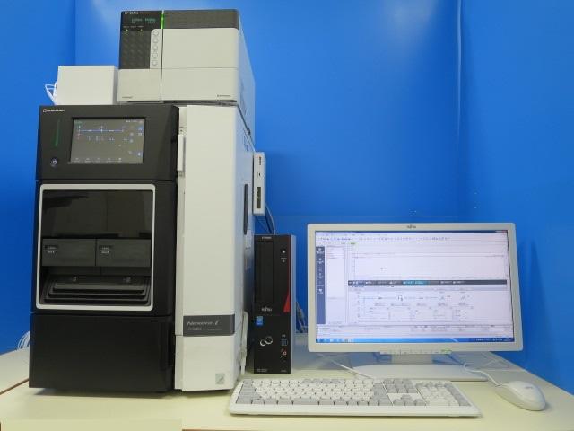 SHIMADZU 一体型HPLC lc-2040 rf-20a