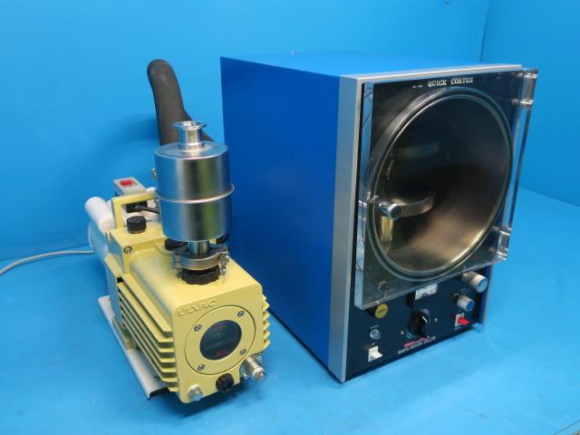 サンユー電子 電子顕微鏡試料作製用装置 クイックコーターSC-705