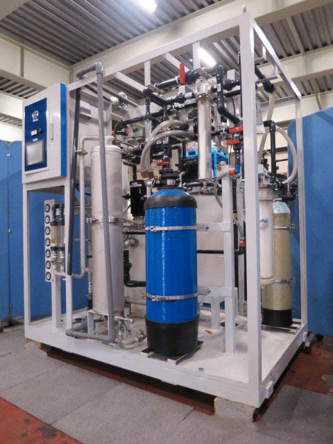 栗田工業㈱/超純水製造装置/マクエース UP-1200R