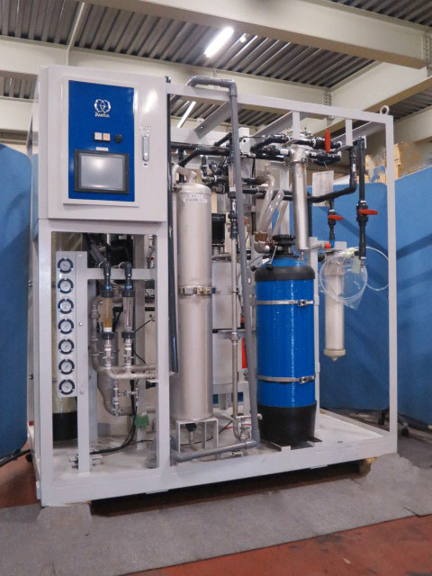 KURITA/Ultrapure water producton system/UP-1200R