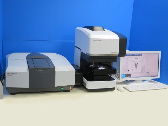 島津製作所 フーリエ変換赤外分光光度計 赤外顕微鏡 IRTracer-100 AIM-9000