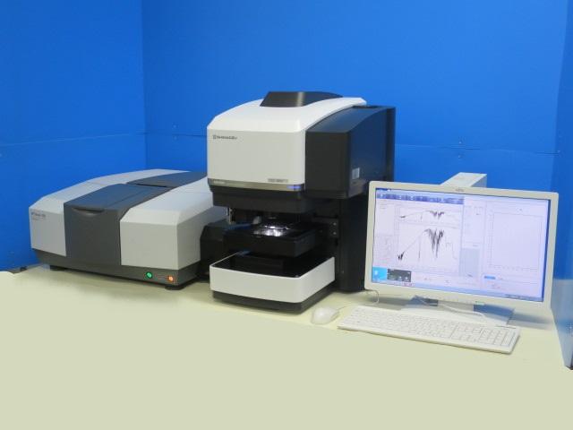赤外顕微鏡 AIM-9000 島津製作所 FTIR