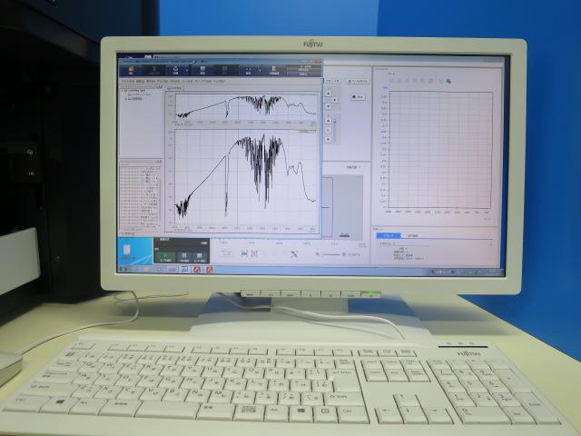 赤外顕微鏡 FTIR装置