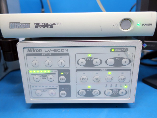 NIKON 3D MICROSCOPES SYSTEM LV150NA