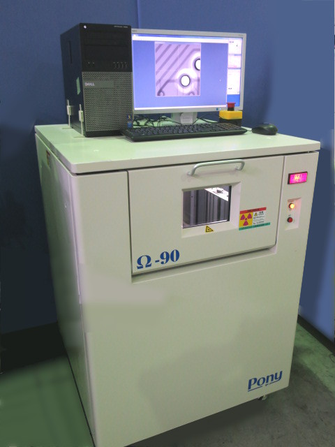 Pony ECONOMICAL X-RAY INSPECTION SYSTEM Ω-90