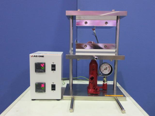 アズワン 小型熱プレス機 H300-01