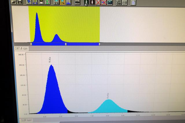 日立ハイテクサイエンス ケイ光X線膜厚計 FT110A