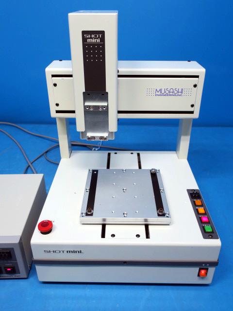 MUSASHI  Desktop type Dispensing Robot System shotmini