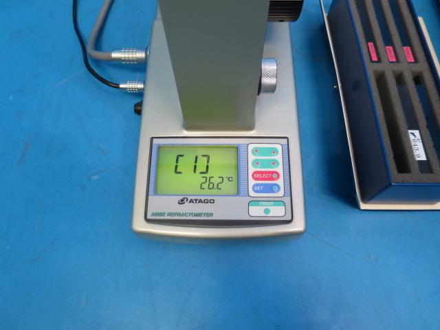 屈折計 糖度 アッベ DR-M2