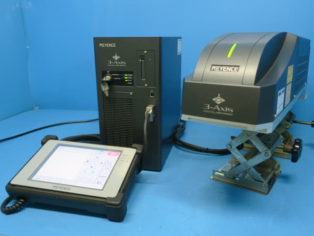 キーエンス 3AxisCO2 レーザーマーカー ML-Z9510T