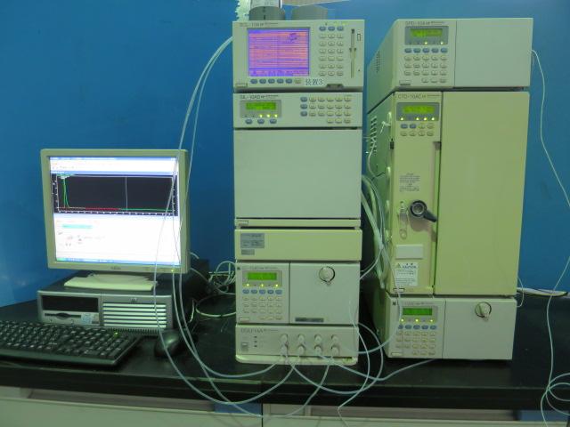 島津製作所 高速液体クロマトグラフ LC-10ADvp