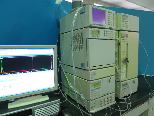 Shimadzu HPLC LC-10ADvp