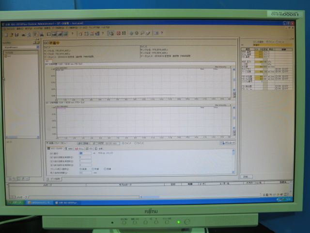 ワイドボアカラム FID検出器 ガスクロ GC