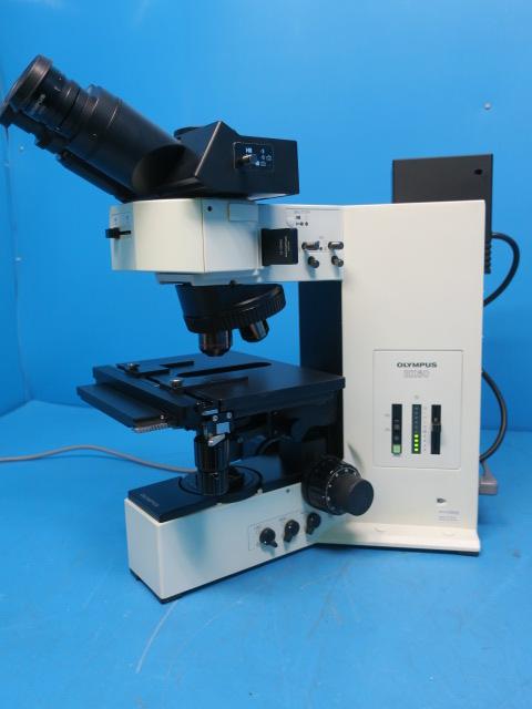 OLYMPUS METAL MICROSCOPE BX60