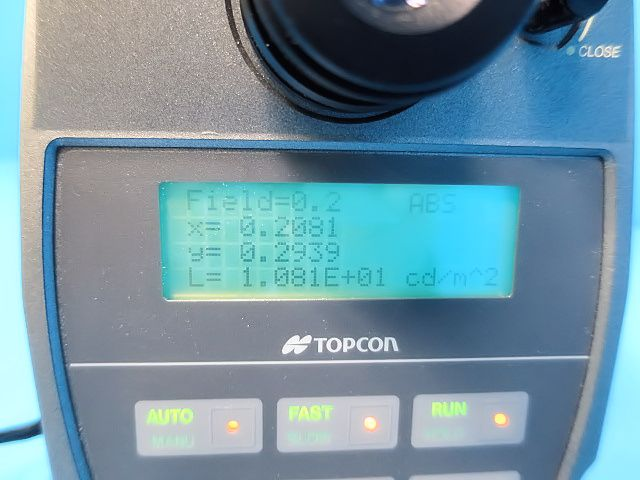 TOPCON/分光輝度計/BM5A