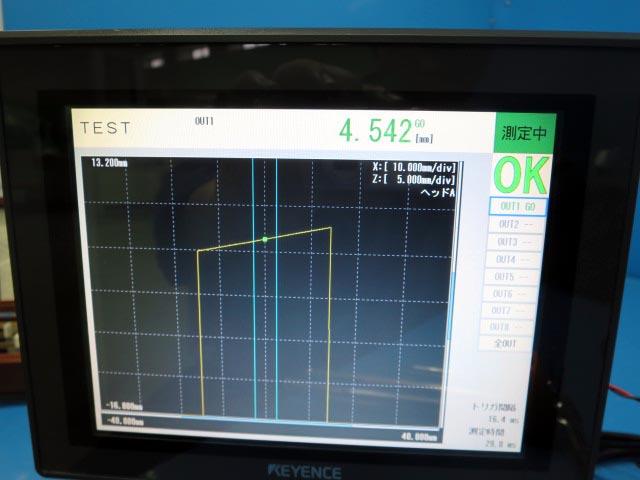 キーエンス レーザセンサー LJ-G5000