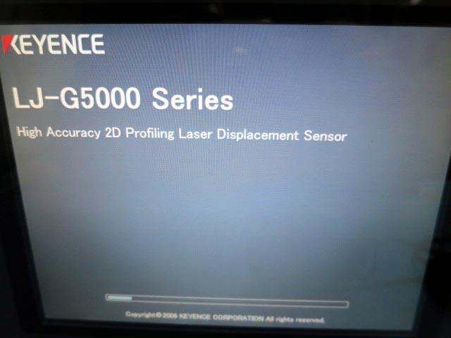キーエンス 高精度2次元レーザ変位センサー LJ-G5000