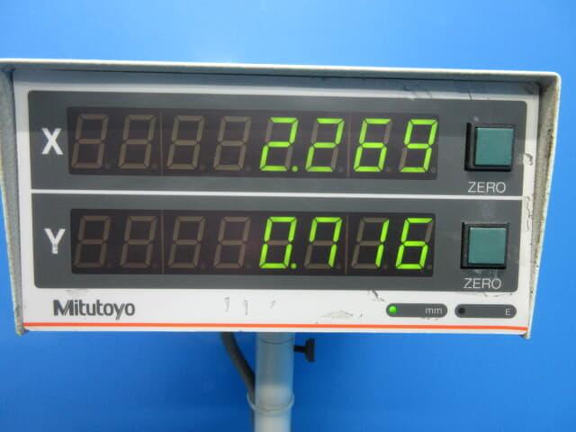 ミツトヨ measuring microscope MF-1050