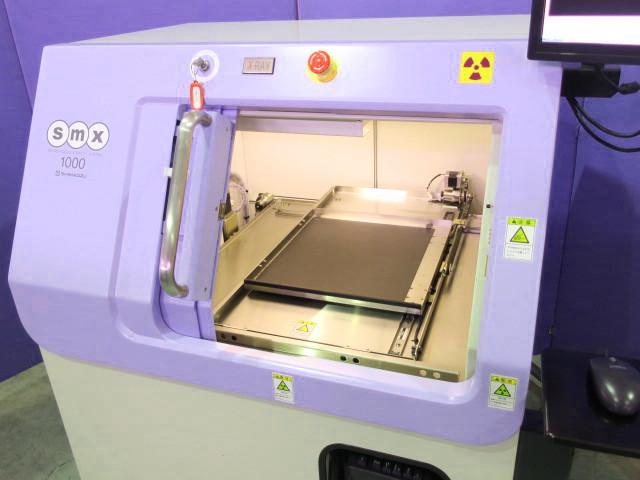 SHIMADZU マイクロフォーカスX線透視装置 SMX-1000