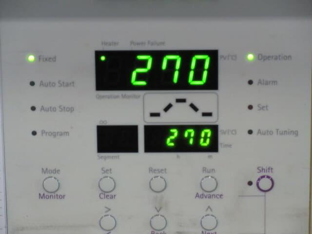 アドバンテック東洋 オーブン 中古 DRM320DA