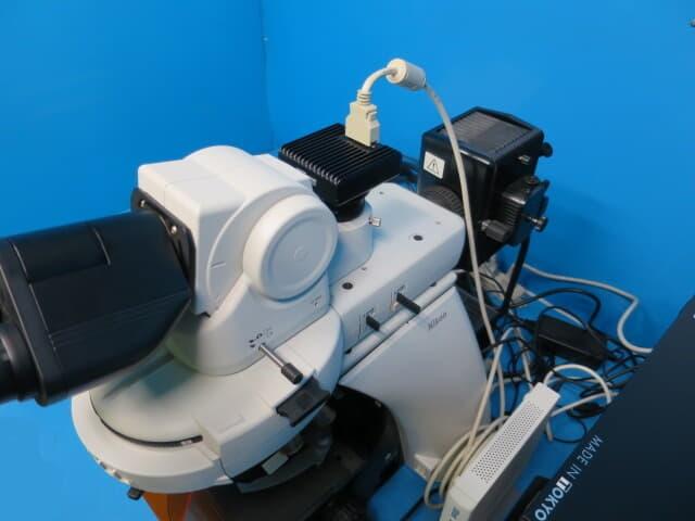 ニコン 生物顕微鏡 蛍光顕微鏡 微分干渉顕微鏡