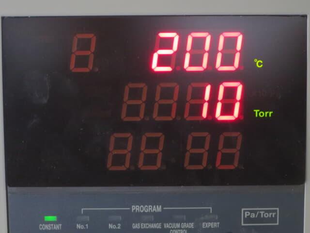タバイエスペック 真空乾燥機 vac-200pr