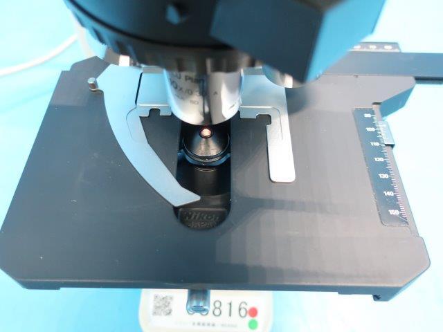 ニコン 蛍光 金属 顕微鏡