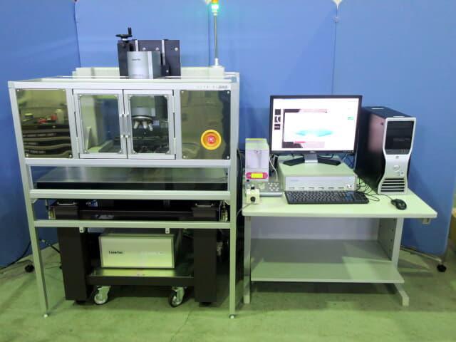 レーザーテック カラーコンフォーカル(共焦点)顕微鏡 OPTELICS H1200